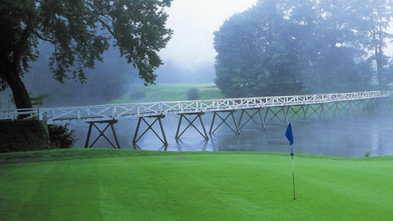 Bridge at the Shawnee Inn golf course – The Shawnee Inn and Golf Resort