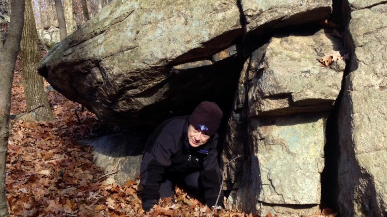 Talus Cave -Trail side – Jan Beliveau