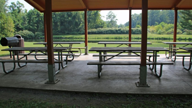 Picnic pavilion. – Nancy J. Hopping