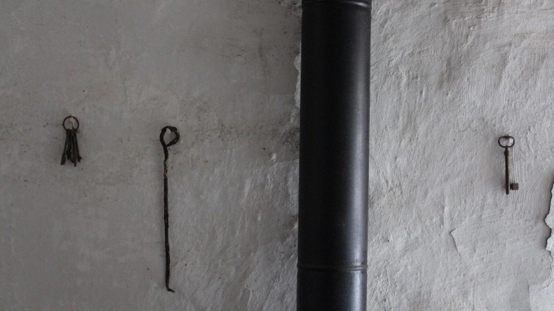 Town Hall and Lockup - keys on pokey wall. – Yvonne Gumaer