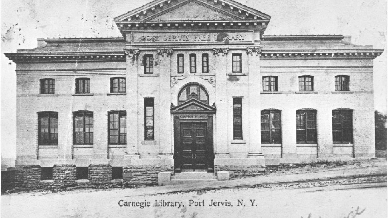 The second floor of the Port Jervis Free Library is the location of the Minisink Valley Historical Society Archives. – Photograph by: Minisink Valley Historical Society