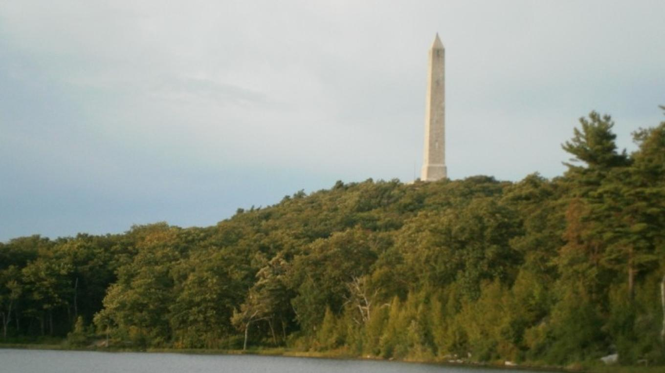 High Point Monument  near Lake Marcia. – Alicia Batko