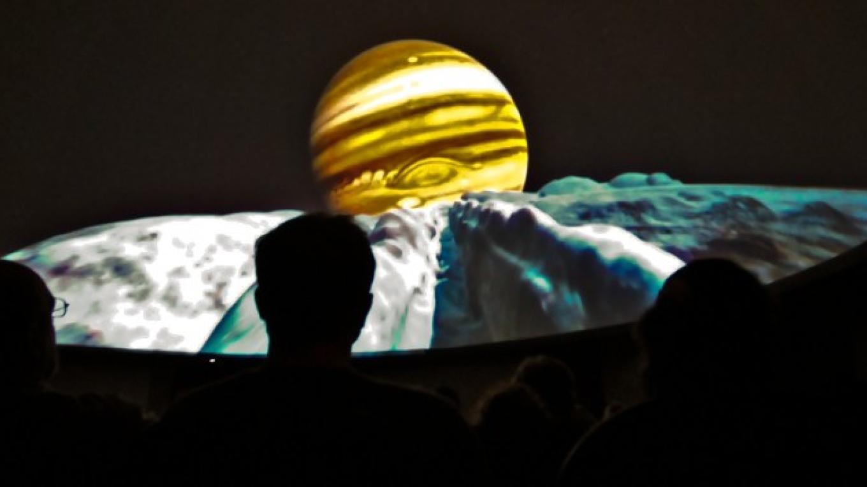 Jupiter Rising – Schisler Museum/McMunn Planetarium