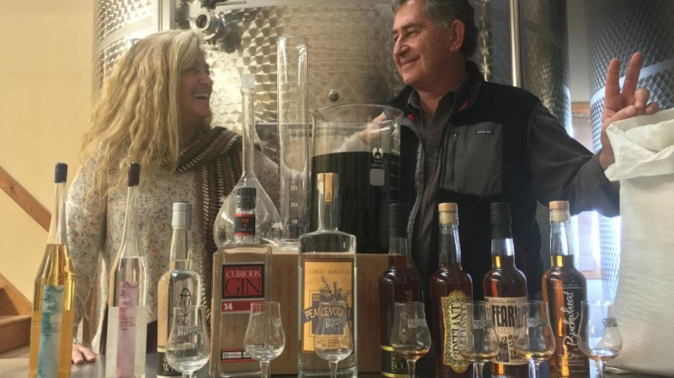 Owners sampling the goods! – Jerry Cohen