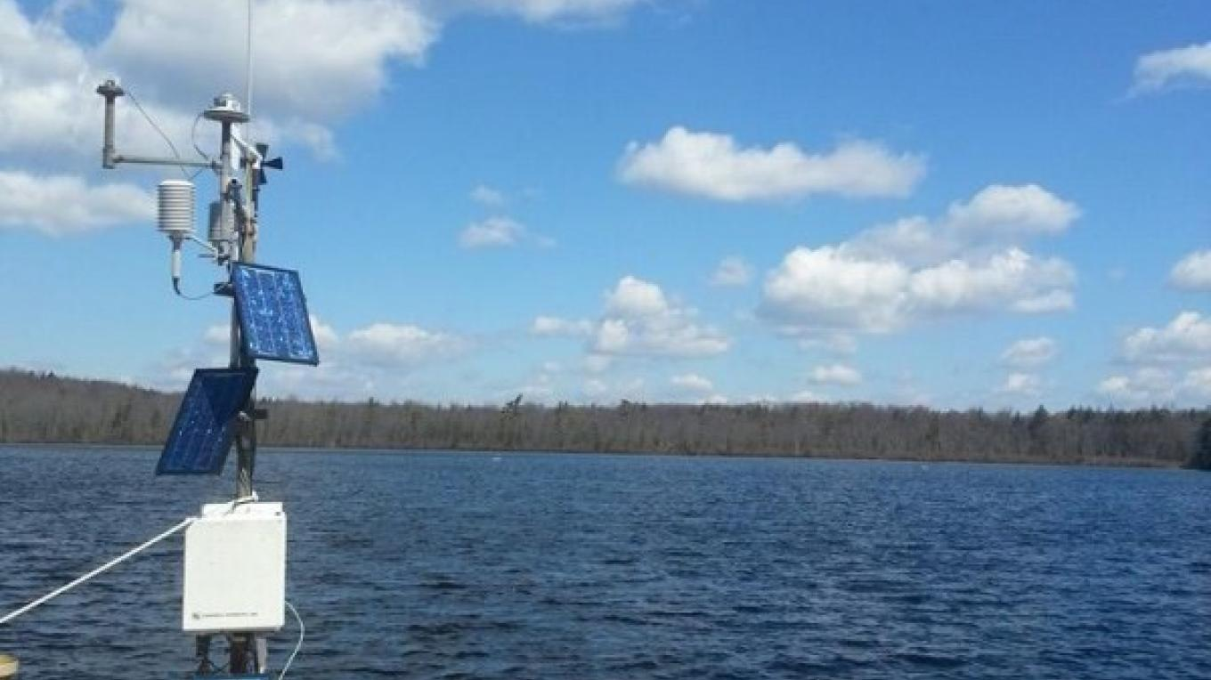 A research weather station at Lacawac