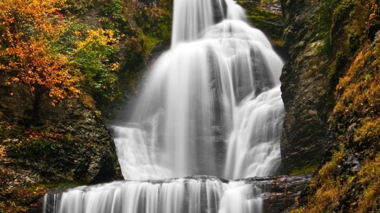 Dingmans Falls in Autumn – Michael Pyle
