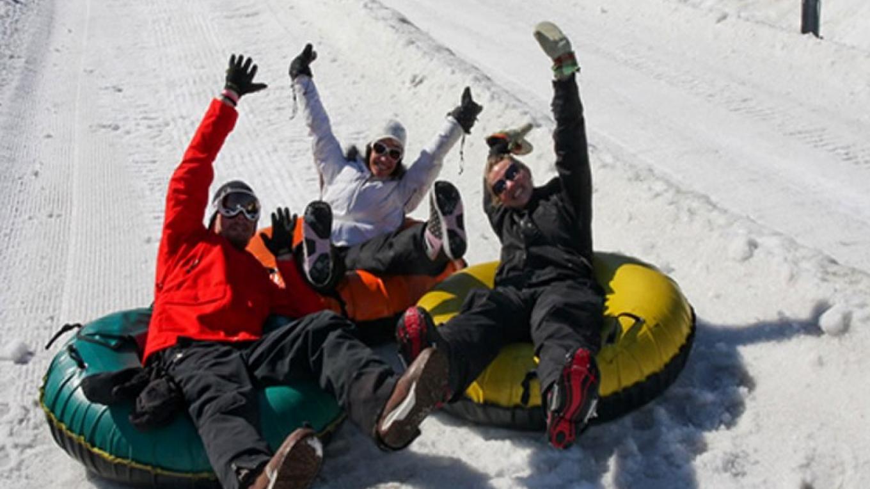 Snow tubing at Shawnee Mountain. – Shawnee Mountain