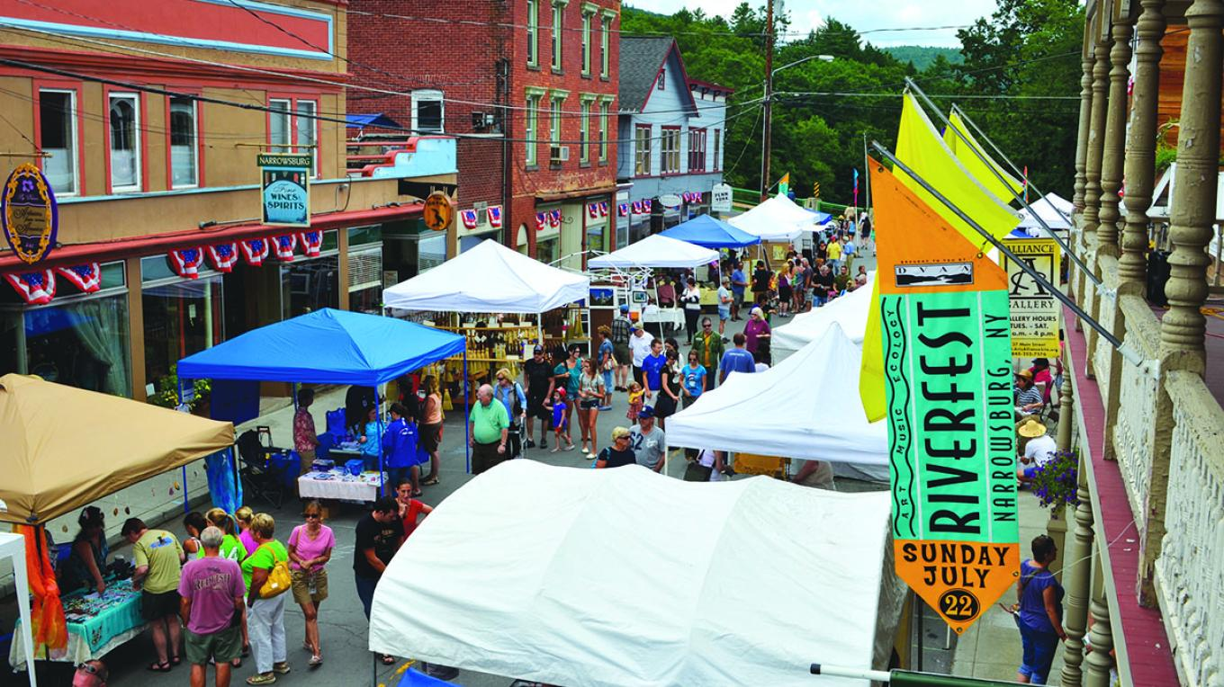 Riverfest in Narrowsburg, New York – Herb Clark