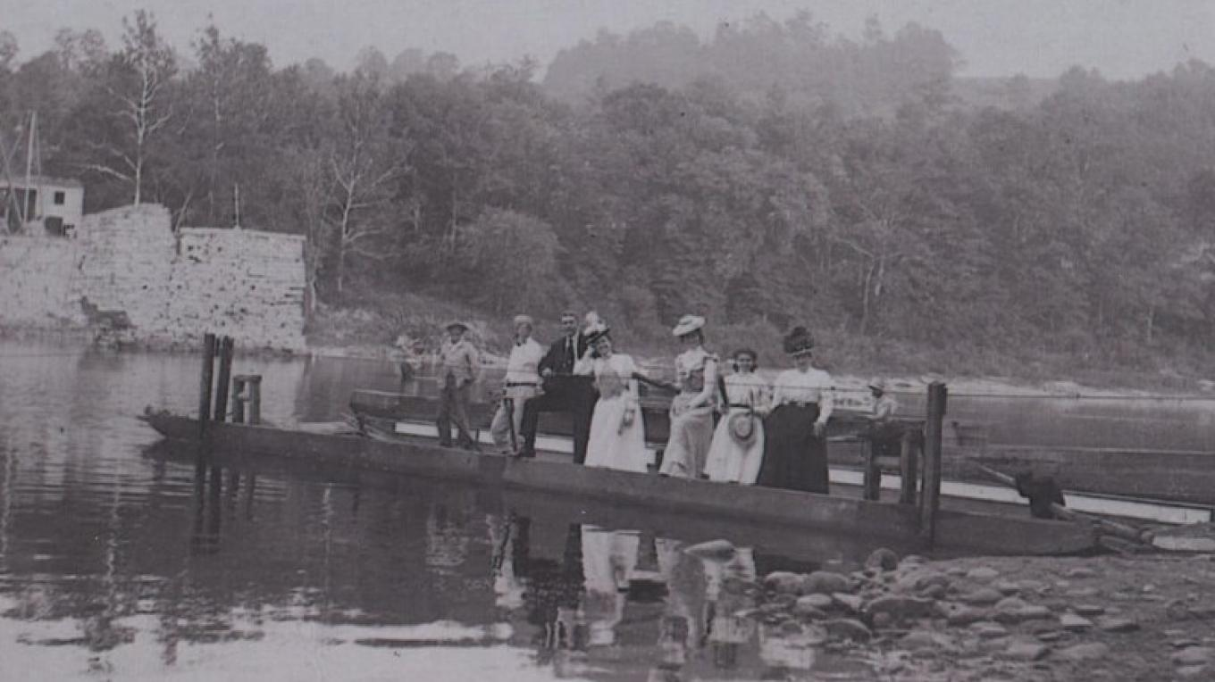 A sample of our photo archives depicting life along the Delaware River. – archives