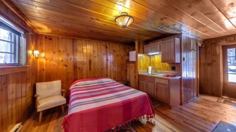 Bedroom and kitchenette—Cabin – Oleg March