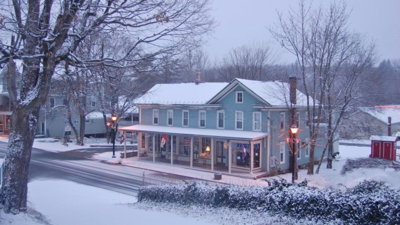 Main Street snowfall – Christine Beegle
