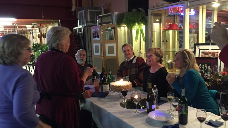 A birthday celebration! – Photograph by: Gracie's Cafe