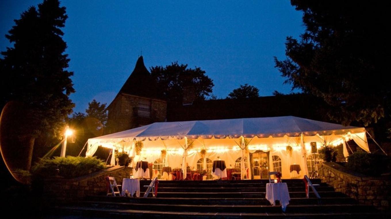 Terrace Dining at night (summer)