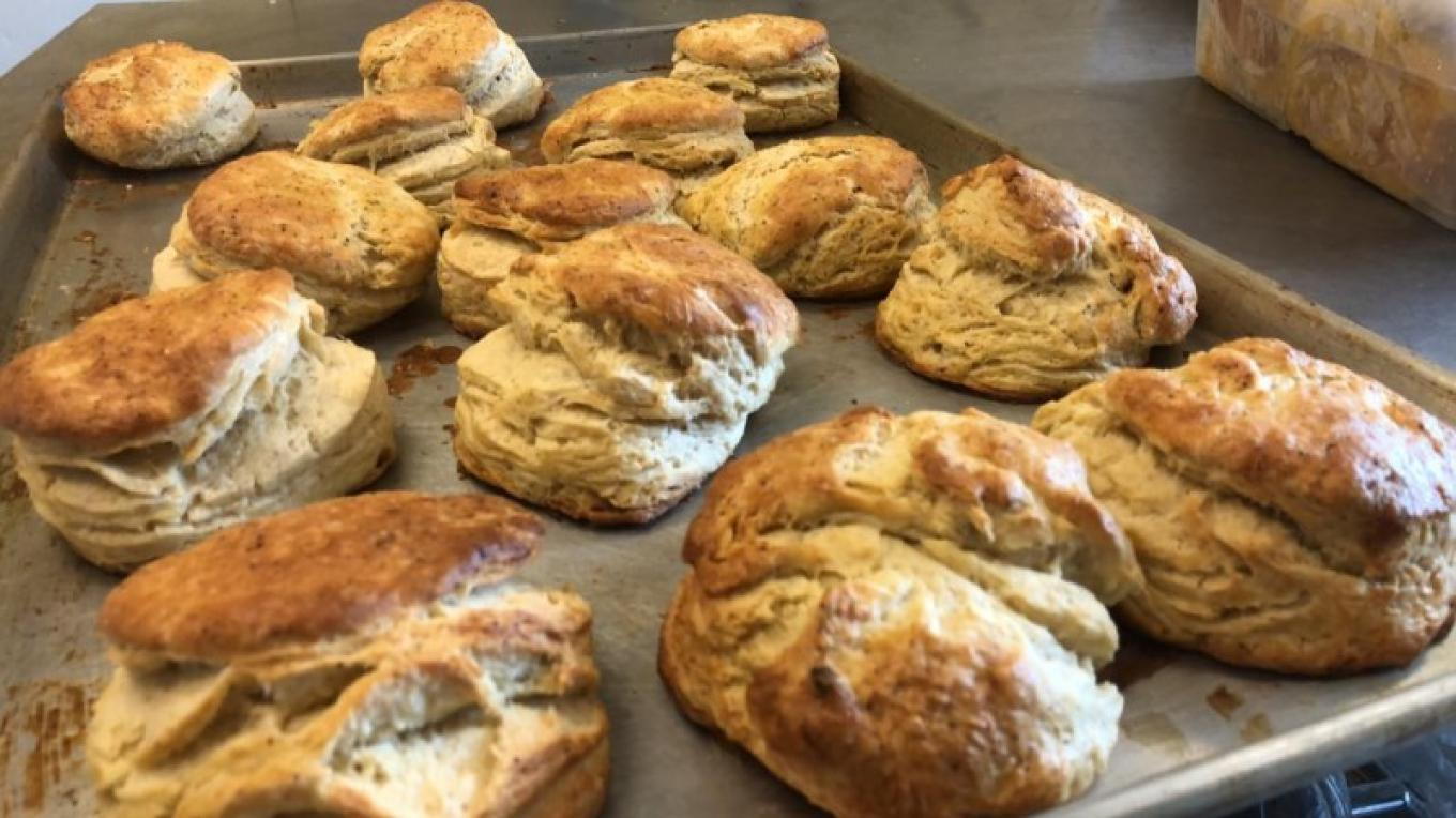 Freshly made biscuits from Northern Farmhouse Pasta – Northern Farmhouse Pasta
