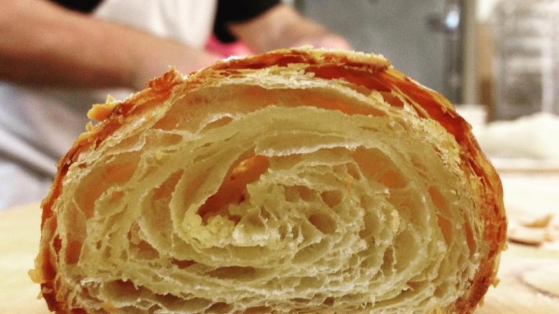 Croissant Crumb – Photograph by: Beach Lake Bakery
