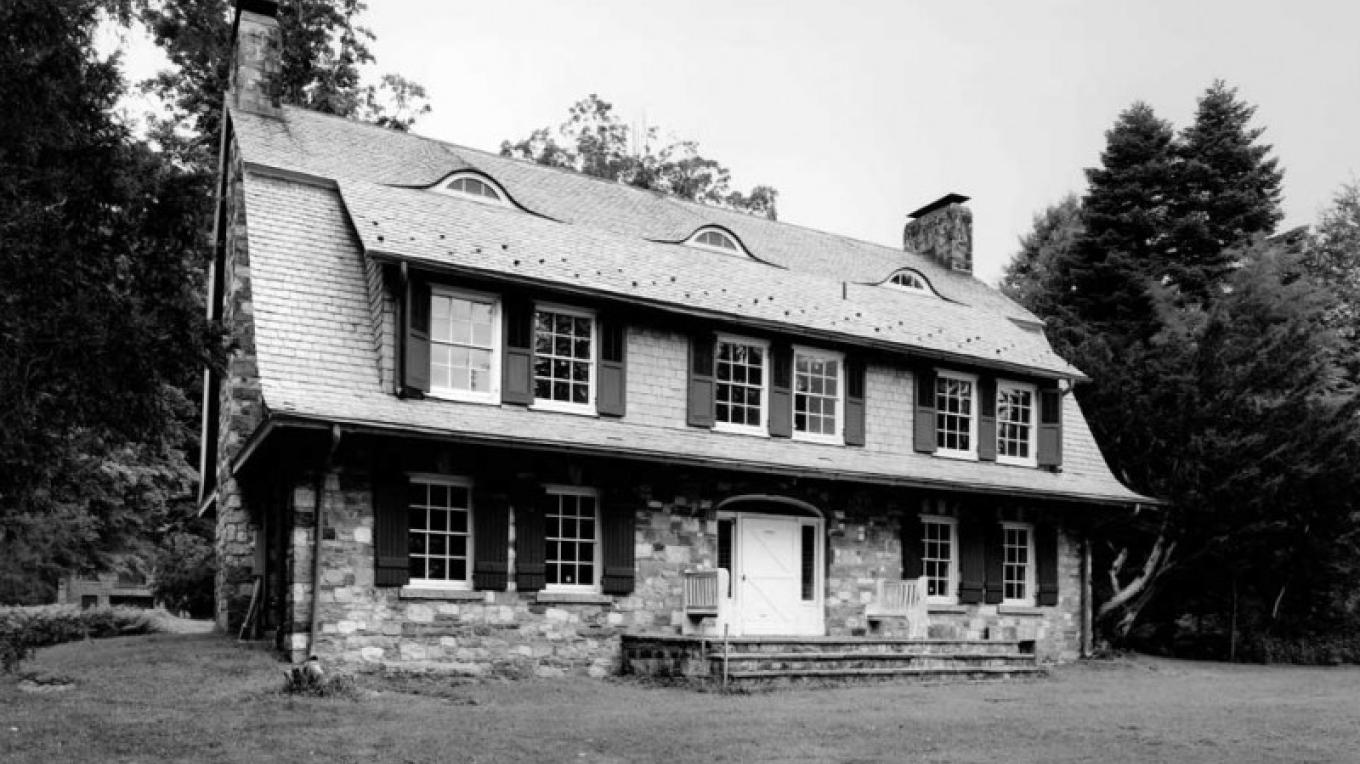 BW view of house – Friends of Marie Zimmermann