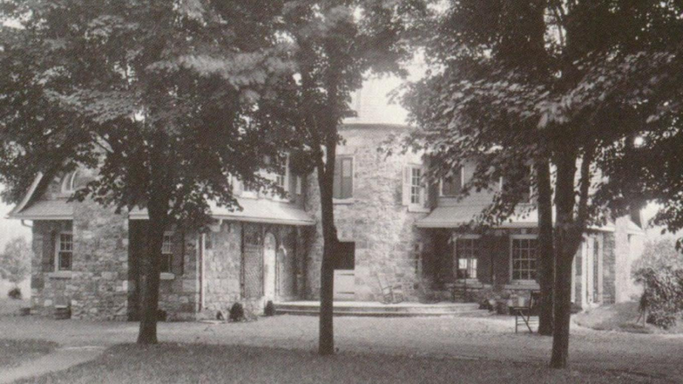 Back view of house 1920 – Zimmermann Archives