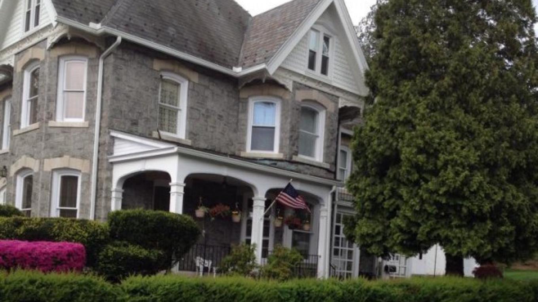 Example of stone home, residential neighborhood, Bangor. – Courtesy of Slate Belt Community Partnership