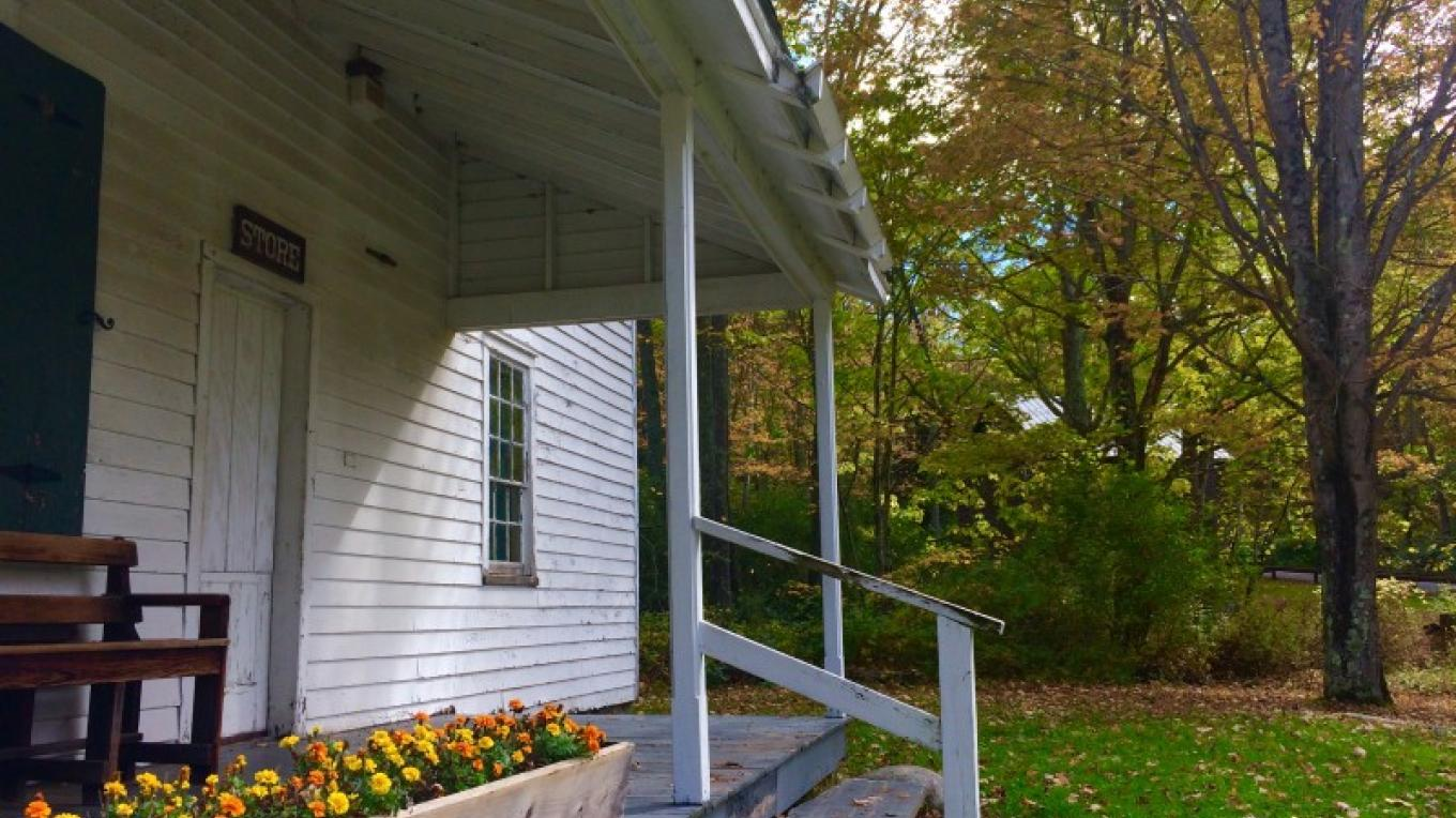 General Store porch, Millbrook Village – National Park Service