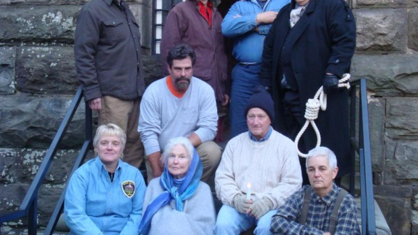 "Our ""Jail Tales"" performers! – Wayne County Historical Society"