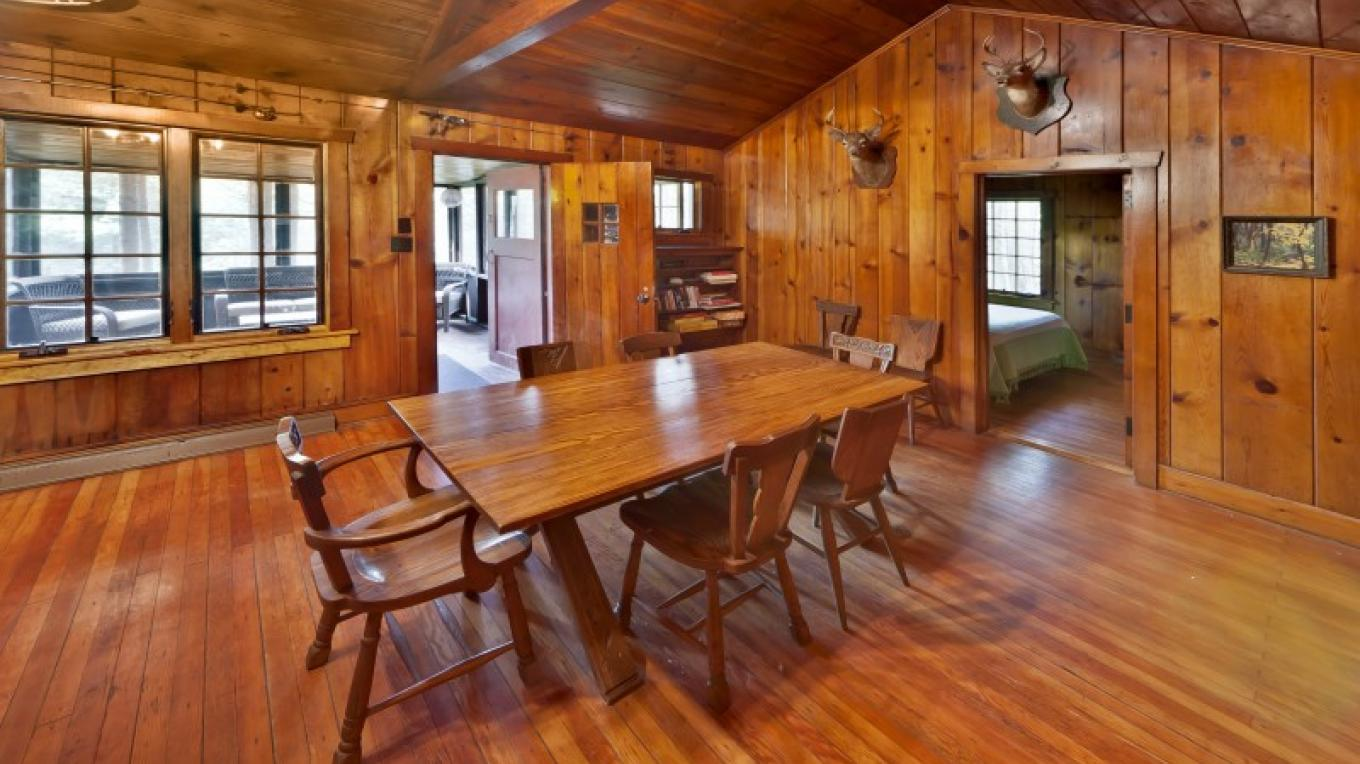 Dining table/great room—Lodge – Oleg March
