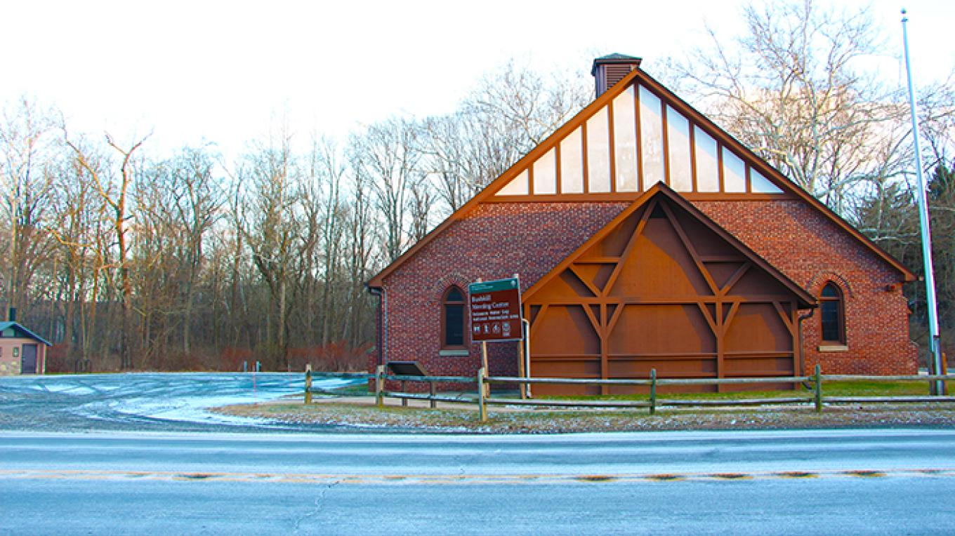 Bushkill Meeting Center off of Route 209 – National Park Service