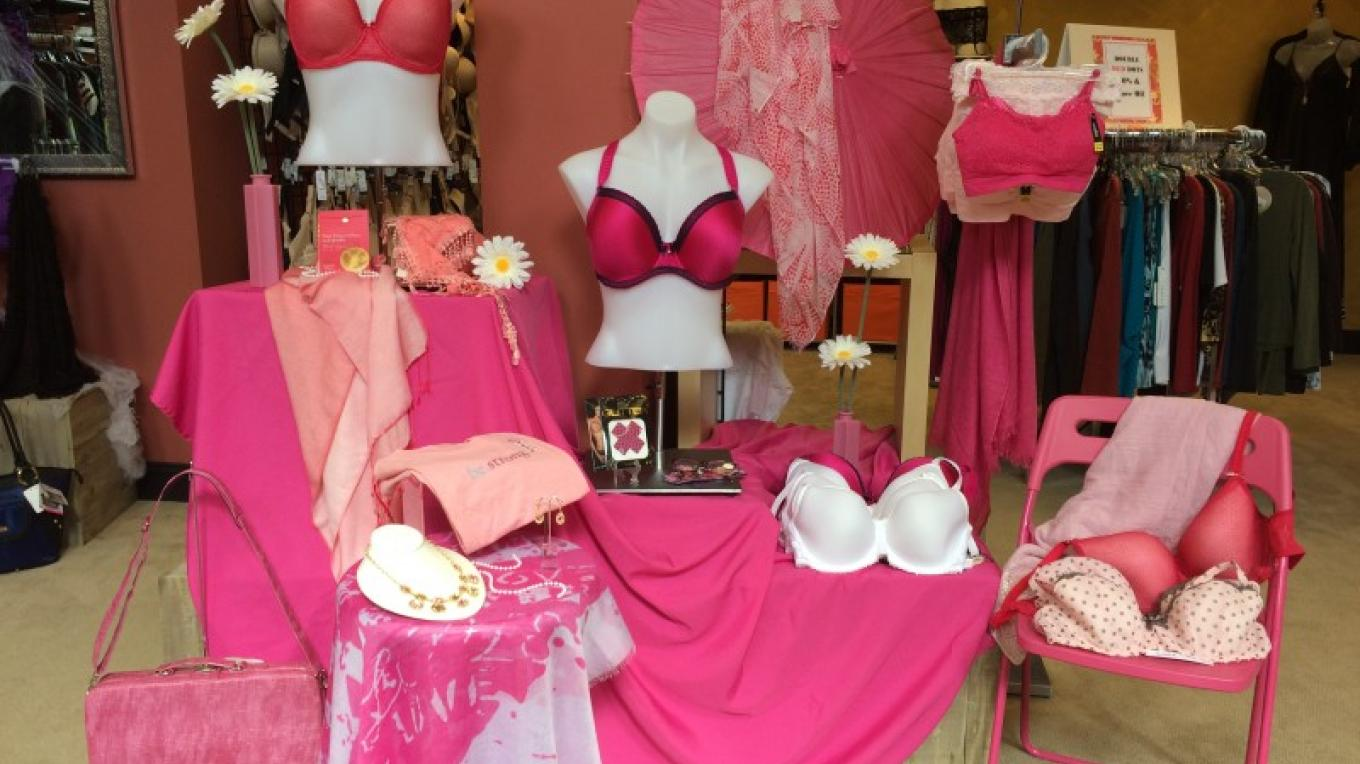 PB&J Stores Breast Cancer Awareness Month in-store display in October 2015. PB&J raised $400 for Sussex County Friend2Friend, Digital Mammogram Program. – PB&J Stores