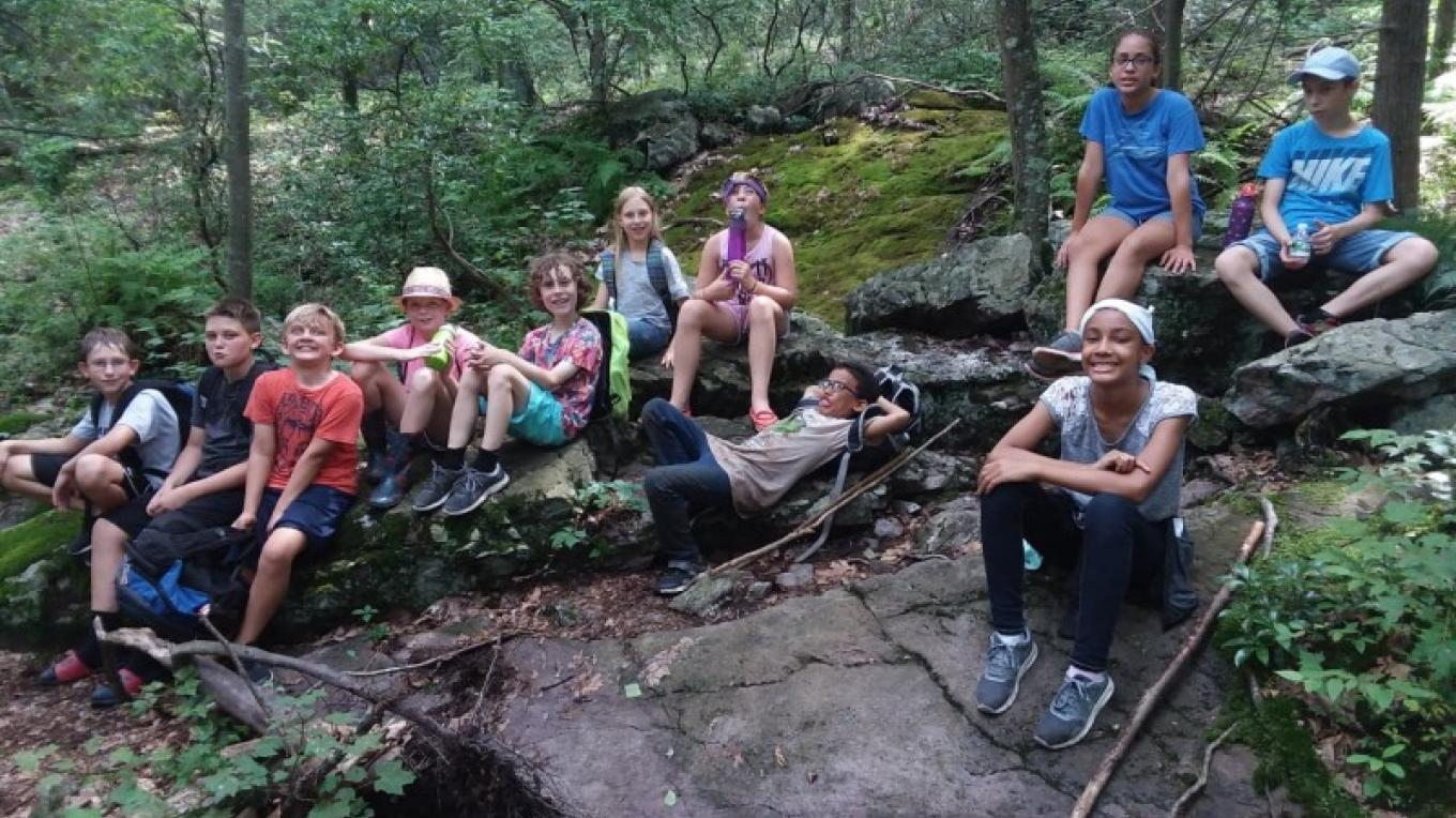 HIking in the Delaware Water Gap National Recreation Area – PEEC Staff Photos