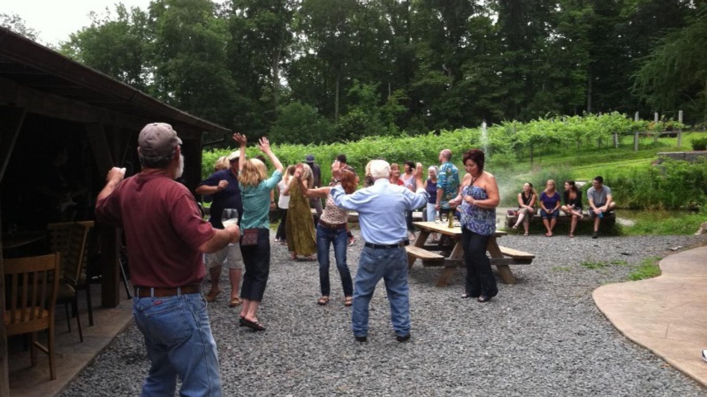 Dancing time! – Eric Schramm