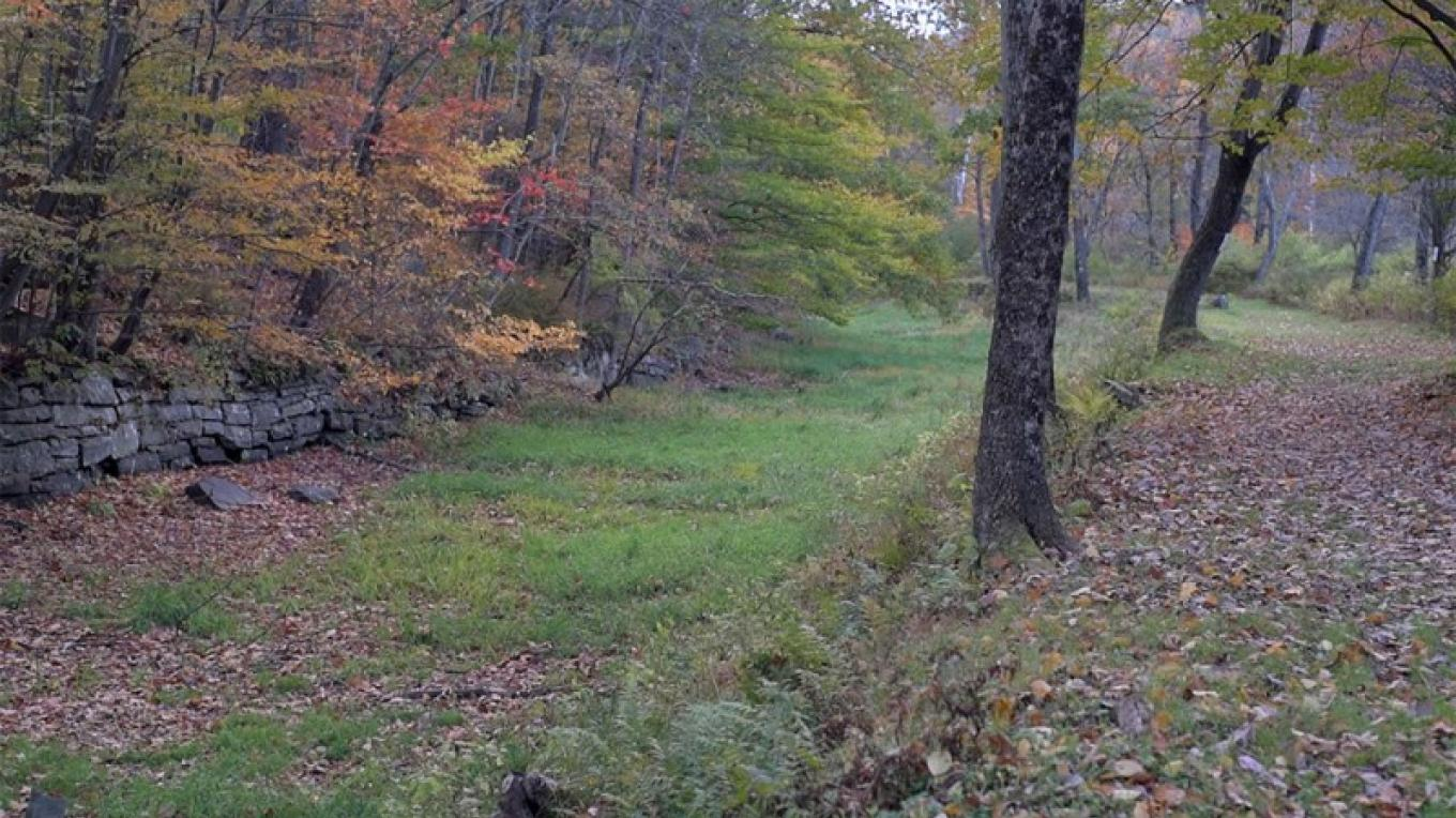 The D&H Towpath Trail – Photograph by: National Park Service