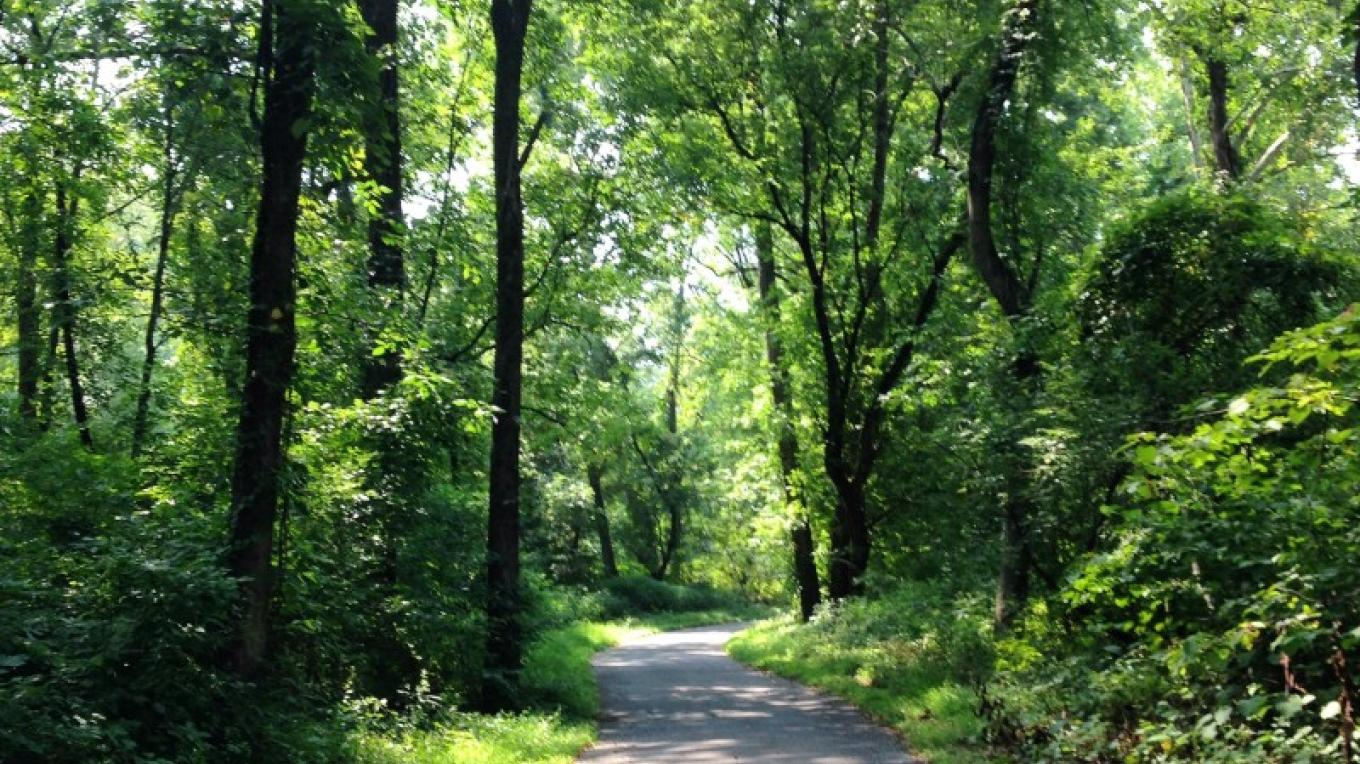 Visitors can walk, bike, and hike through the park. – Delaware & Lehigh National Heritage Corridor