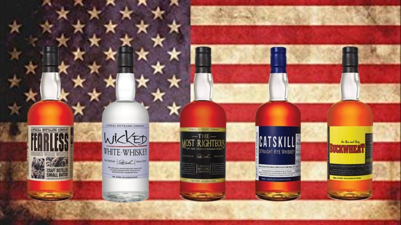 The NY Distilled and Aged Whiskeys of the Catskill Distilling Co. in Bethel, NY ! – Jerry Cohen