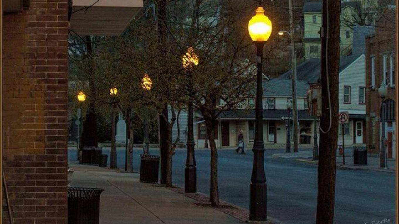 Spring evening in downtown Bangor. – Sharon J. Davis, Slate Belt Community Partnership