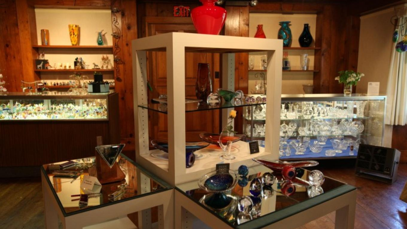 The Museum Gift Shop occupies part of the original home used by the Dorflinger family in the mid 19th century. – Henry J. Loftus