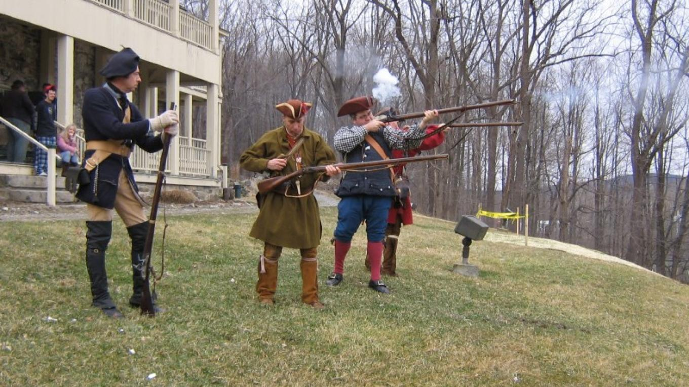 Members of the New Jersey Frontier Guard – S. Shutler