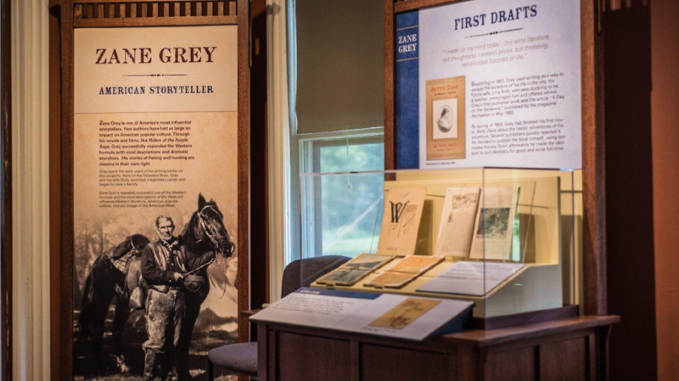 Zane Grey Museum – Photograph by: National Park Service