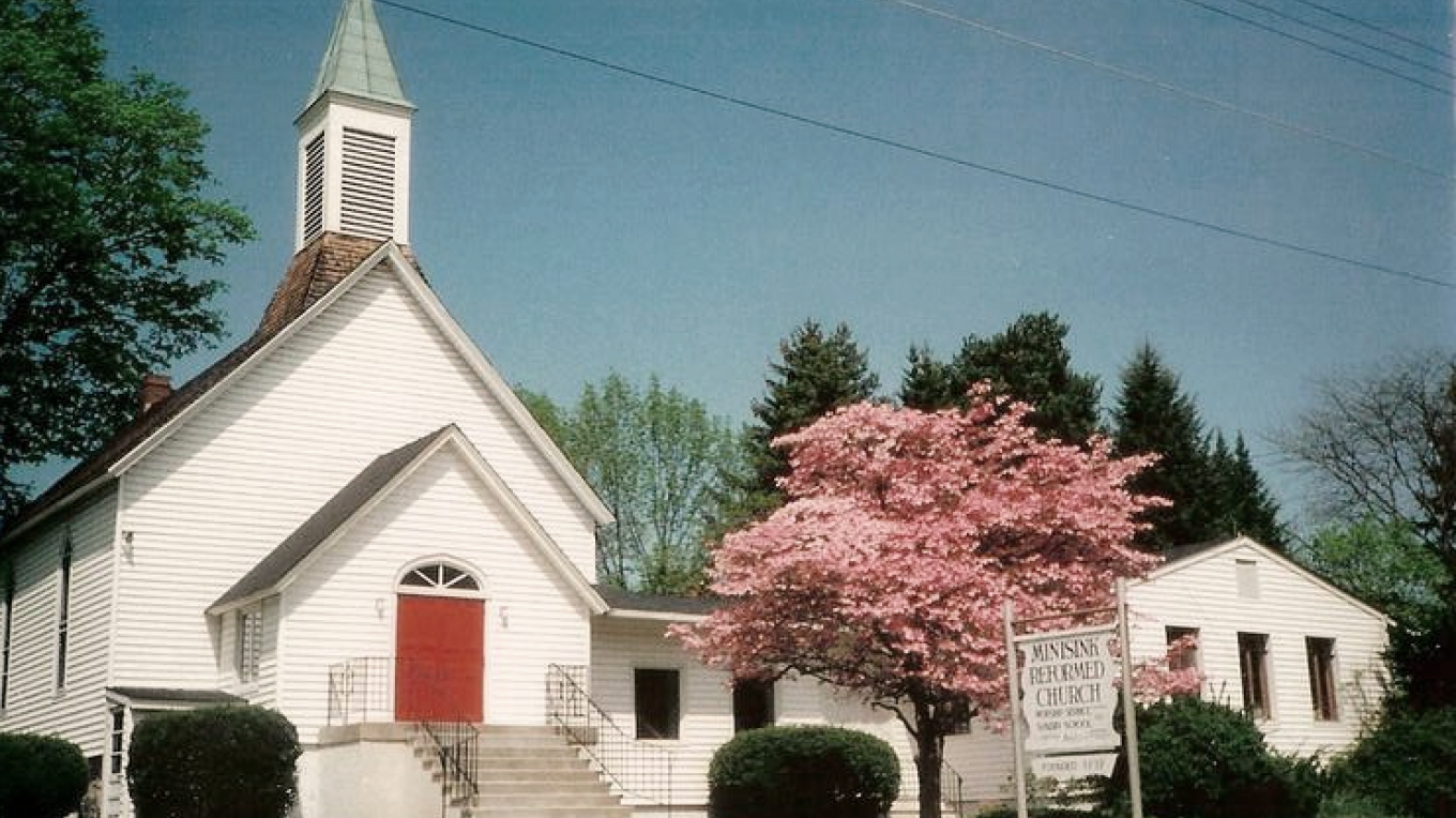 Minisink Reformed Church - its congregation formed in 1737. This is their 3rd church building, dedicated in 1899. – Alicia Batko