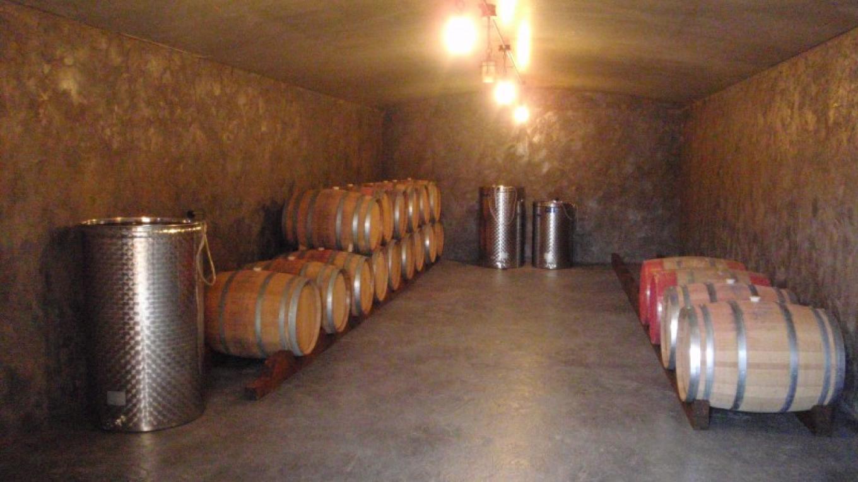 Inside wine cave – Eric Schramm
