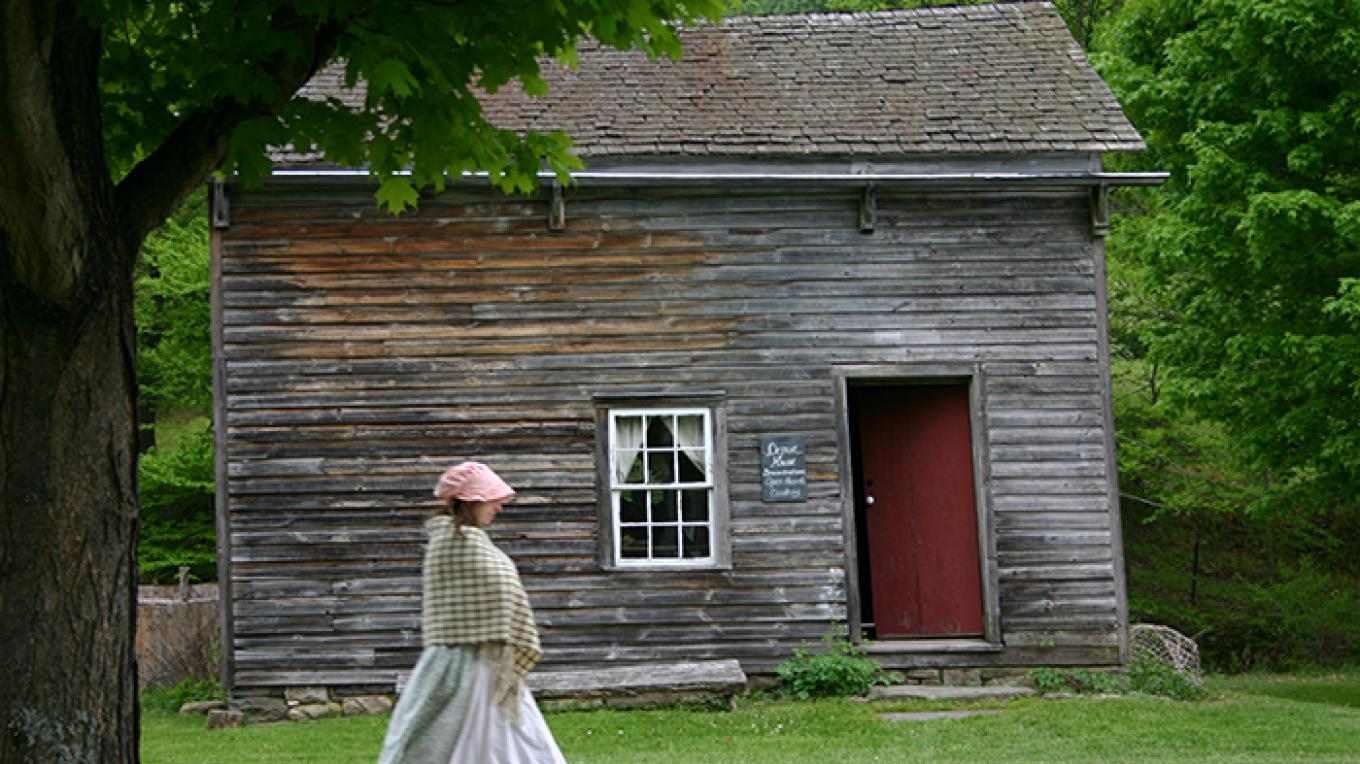 Learn about 19th century lifeways at Millbrook Village in New Jersey. – National Park Service
