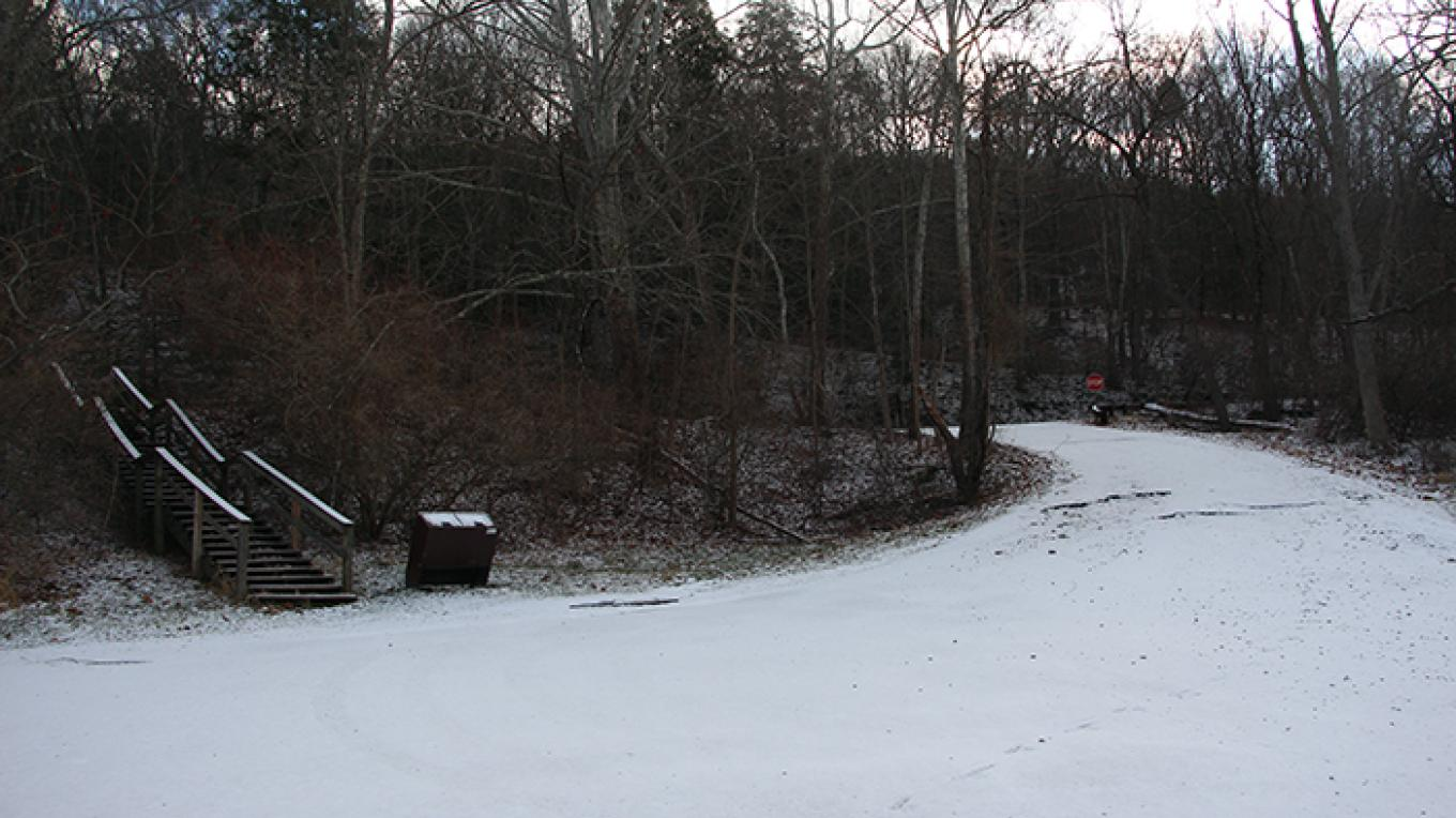 Looking uphill from Poxono Access – National Park Service