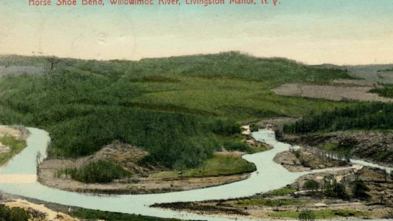 Willowemoc Horshoe Bend circa early 1900's – Unknown