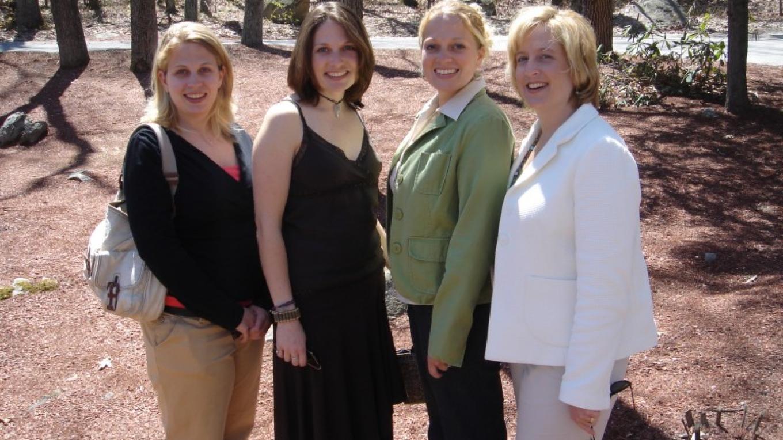 The Four Sisters! Sadie, Serena, Robin & Melissa. – Matty Matarazzo