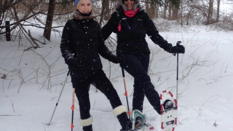 Snowshoe Two-Step on Cascade Trail – JoAnne Beliveau