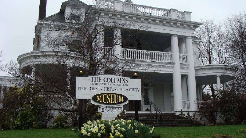 Columns Museum, three blocks from the hotel