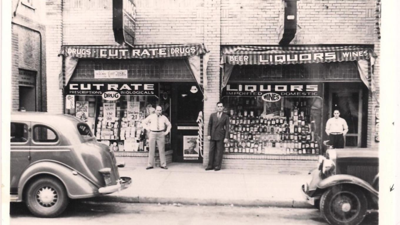 Brand new building circa 1929! Same 219 Spring Street. Look at us now! – PB&J Stores