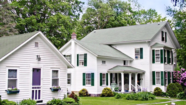 1870 Roebling Inn on the Delaware cottage and main building – JoAnn Jahn