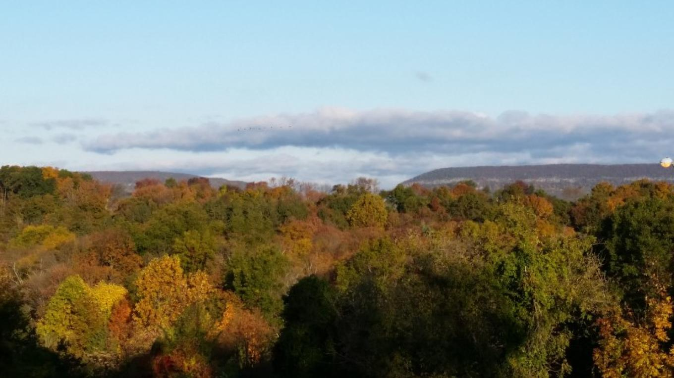 The view from the scenic overlook in autumn. – Jessy Taylor