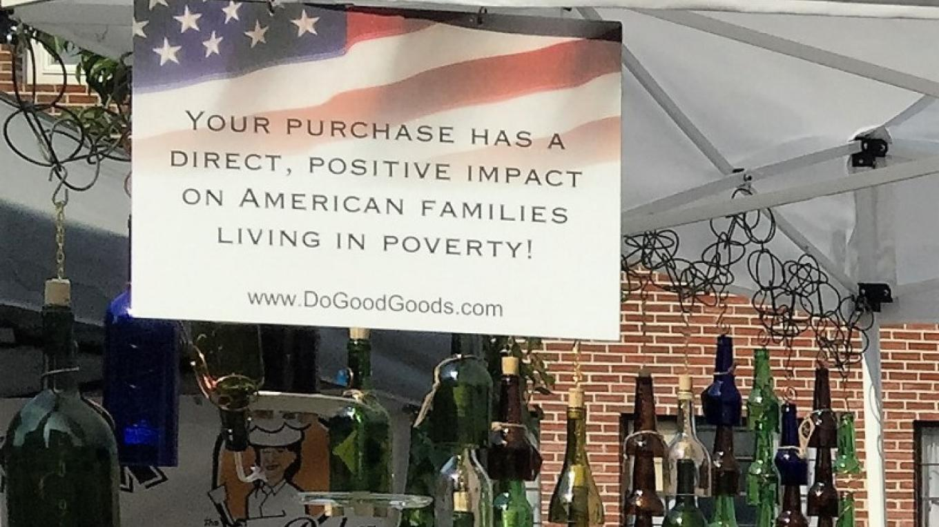 Do Good Goods sells lanterns, candles and wind chimes made in the USA – Josephine Noone