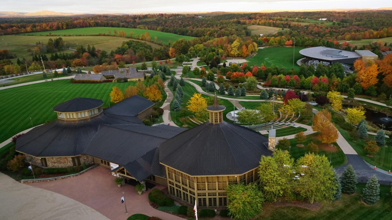At the site of the 1969 Woodstock festival, Bethel Woods Center for the Arts is now a unique educational, performance, and retreat environment