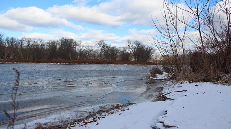 Looking upstream at Poxono Access. – National Park Service